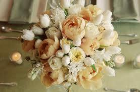 blomsterdekorationer fersken
