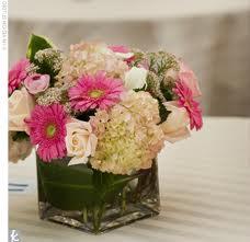blomsterdekorationer lyserød