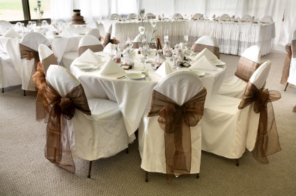 Bryllup i festlokaler