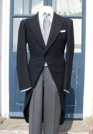 Brudgommens tøj