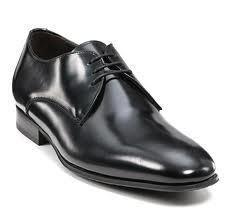 Brudgrommens sko læder