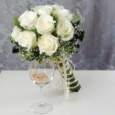brudebuket hvide