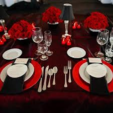 Borddækning til bryllup