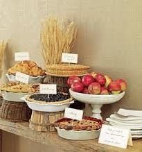 Afslappet bryllup mad